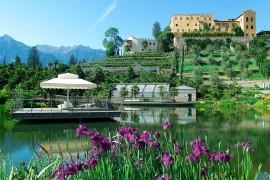 Meran, Südtirol: Botanischer Garten von Schloss Trauttmansdorff