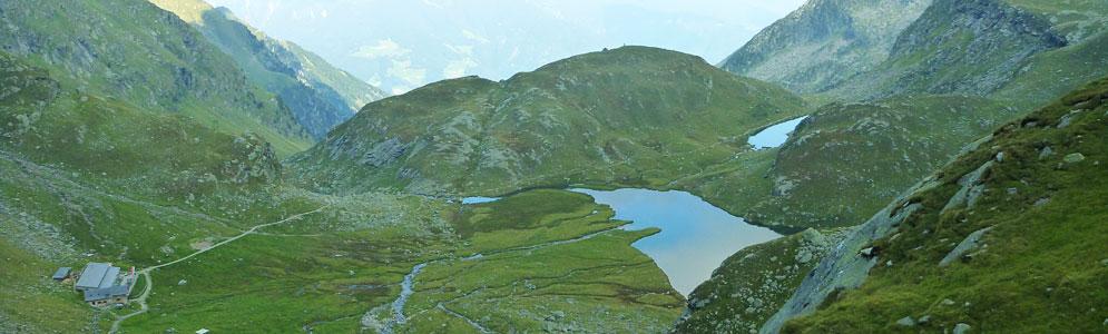 Spronser Seen - Texelgruppe: Wandern in Südtirol