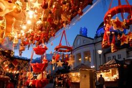 Der Meraner Adventsmarkt auf der Kurpromenade