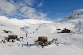 Das Skigebiet Meran 2000