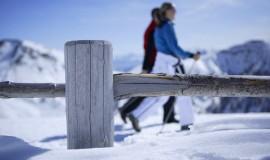 Schneeschuhwandern beim Tallner Winter